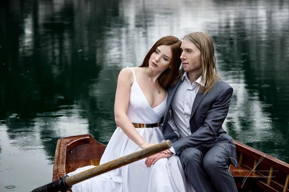 Свадьба Александры и Норика на озере Браес - фото №22