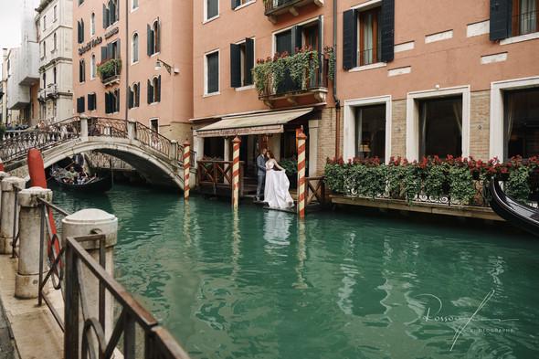 Свадьба Александры и Норика в Венеции - фото №22
