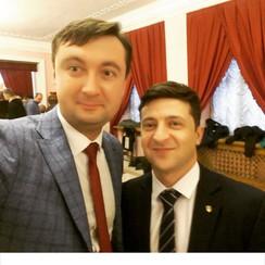 Ведущий Сергей Лазарев - выездная церемония в Киеве - фото 4
