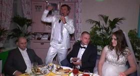 Ведущий Сергей Лазарев - выездная церемония в Киеве - фото 2