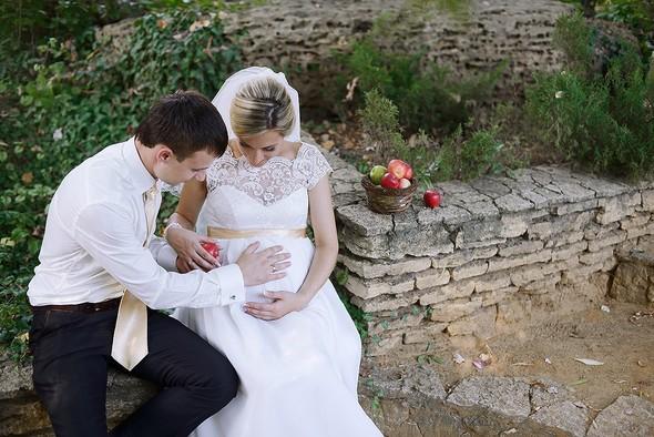 свадебный день - фото №44