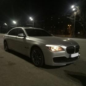 BMW 740 Long - авто на свадьбу в Днепре - портфолио 4