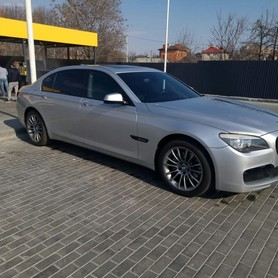 BMW 740 Long - авто на свадьбу в Днепре - портфолио 1