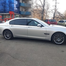 BMW 740 Long - авто на свадьбу в Днепре - портфолио 2