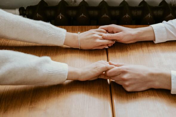 Февральская сказка Наташи и Сергея - фото №22