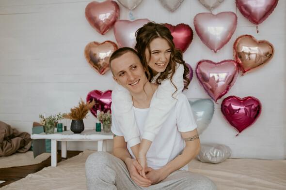 Февральская сказка Наташи и Сергея - фото №6