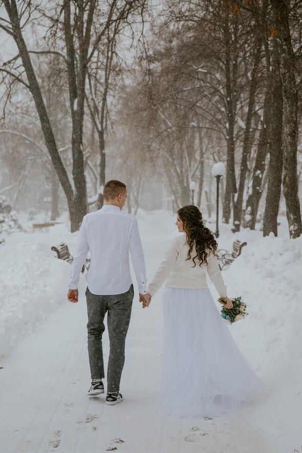 Февральская сказка Наташи и Сергея - фото №17
