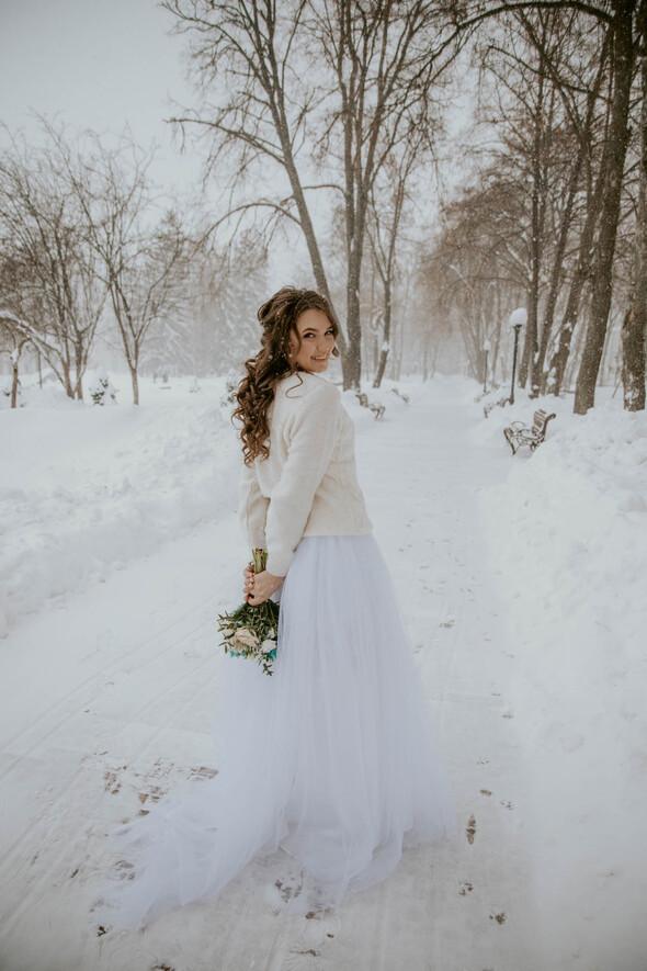 Февральская сказка Наташи и Сергея - фото №18