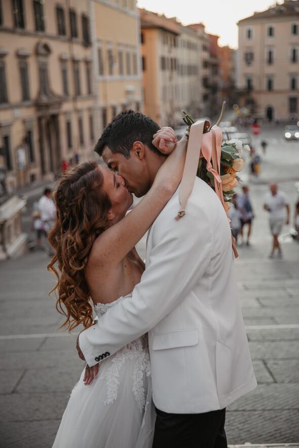 Veronica & Madson. Rome - фото №17