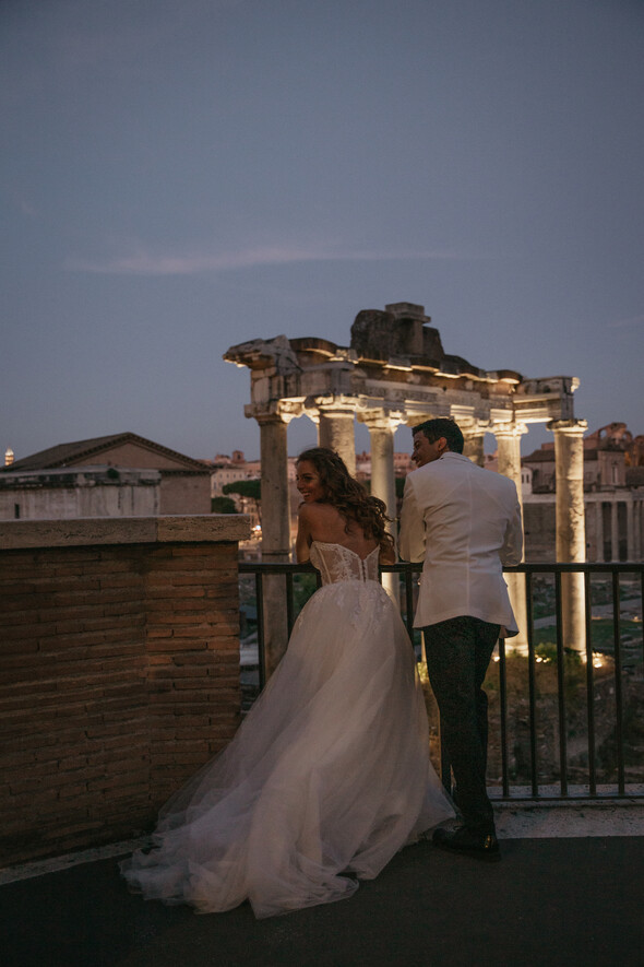 Veronica & Madson. Rome - фото №31