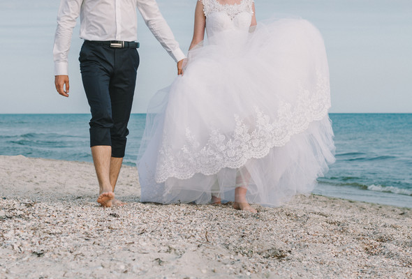 Ты моё море... Свадьба Маргариты и Владислава - фото №16