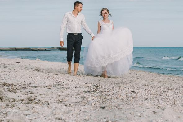Ты моё море... Свадьба Маргариты и Владислава - фото №15