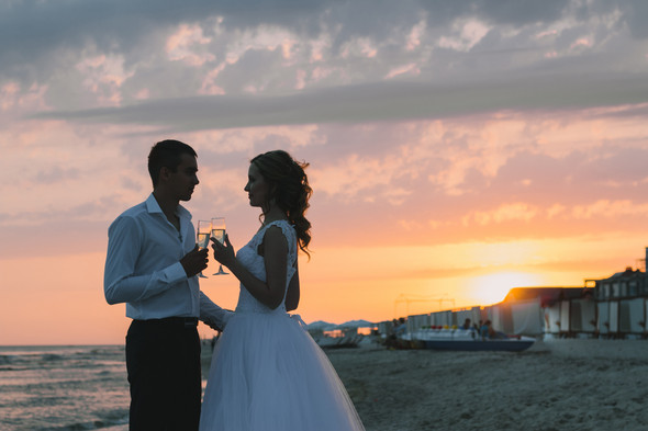 Ты моё море... Свадьба Маргариты и Владислава - фото №29