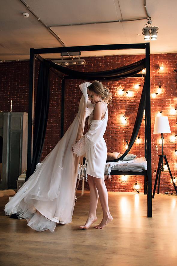 Свадебный будуар, утро невесты - фото №21