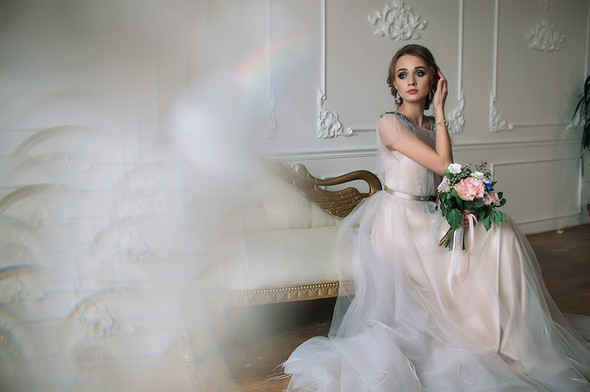 Свадебный будуар, утро невесты - фото №29