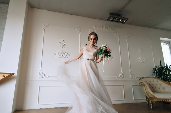 Свадебный будуар, утро невесты - фото №27