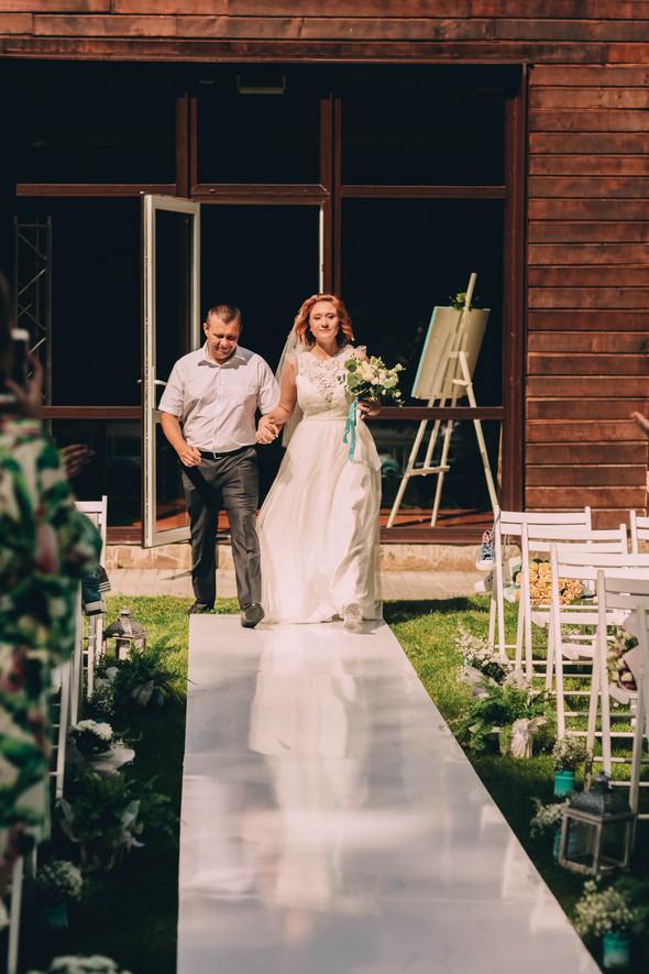 Кедная свадьба Оля и Олег - фото №34