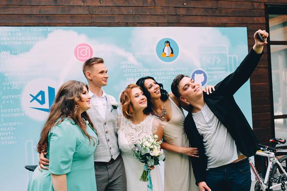 Кедная свадьба Оля и Олег - фото №52