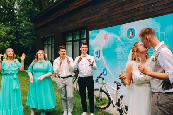 Кедная свадьба Оля и Олег - фото №57
