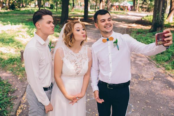 Кедная свадьба Оля и Олег - фото №43