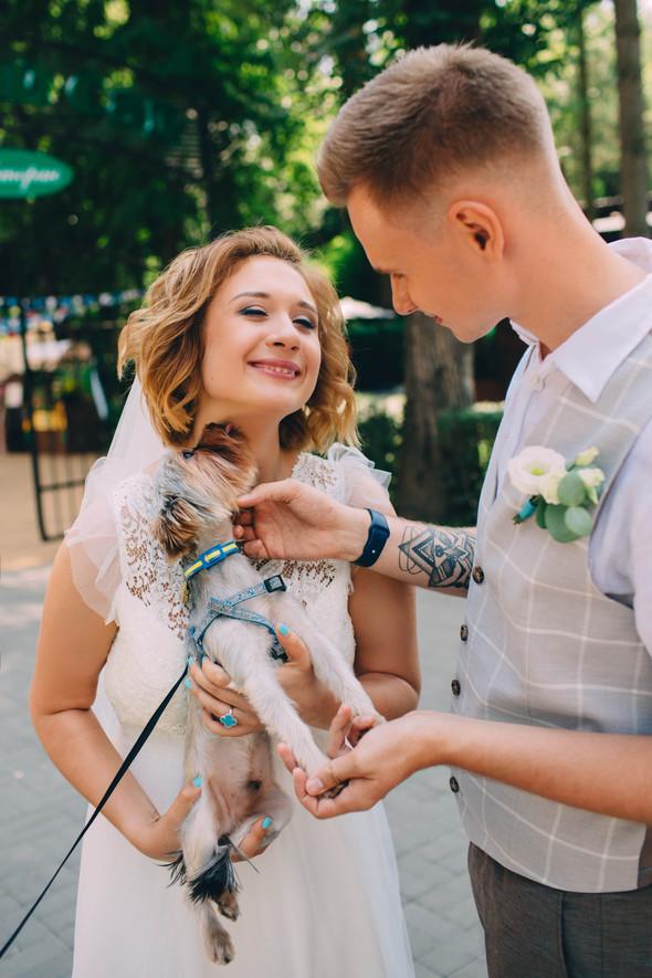 Кедная свадьба Оля и Олег - фото №30