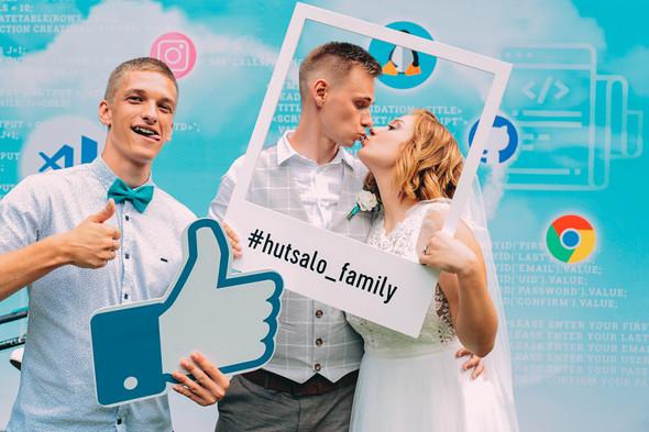 Кедная свадьба Оля и Олег - фото №58