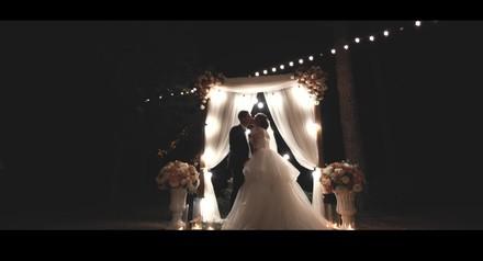 на весь апрель скидка на свадебную видеосъемку 15%