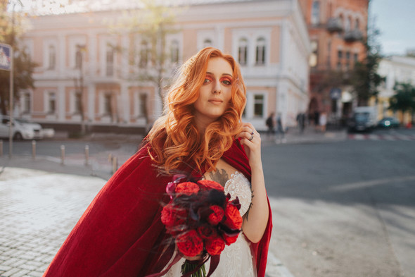 Готичне весіля - фото №7