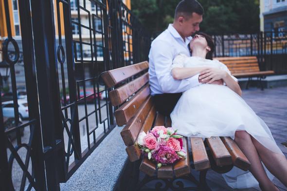 Свадебная фотосессия на Воздвиженке - фото №6