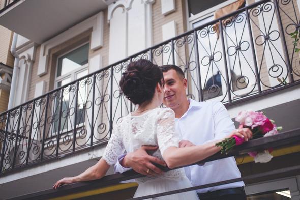 Свадебная фотосессия на Воздвиженке - фото №13