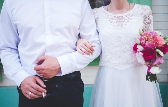 Свадебная фотосессия на Воздвиженке - фото №16