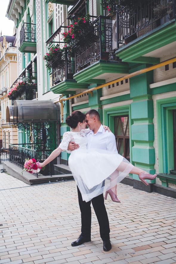 Свадебная фотосессия на Воздвиженке - фото №14