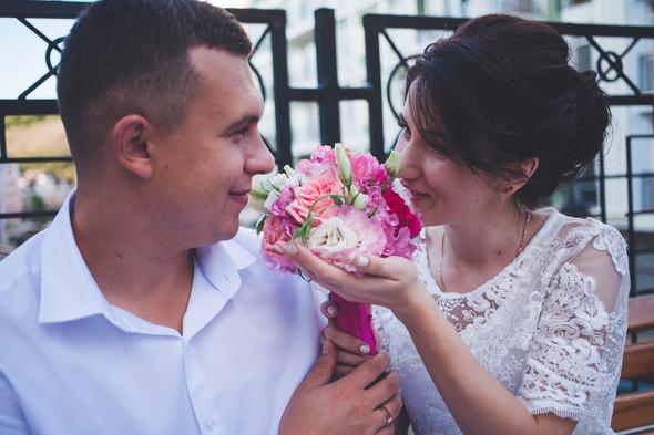 Свадебная фотосессия на Воздвиженке - фото №9