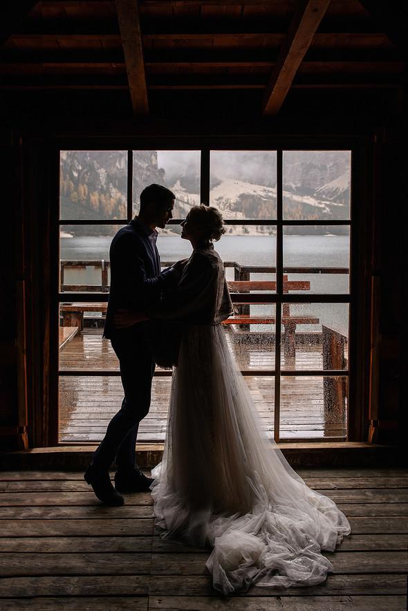 Thaddaeus & Lisa. Lago di Braies. Italy - фото №2