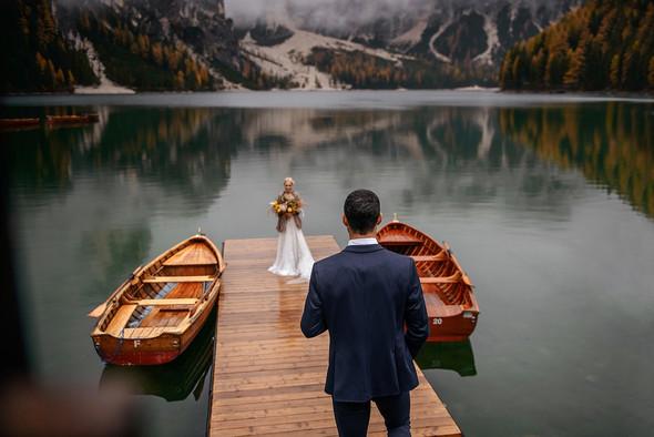 Thaddaeus & Lisa. Lago di Braies. Italy - фото №22