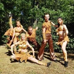 Шоу-балет LIGHT, зеркальный человек, свадебный танец - артист, шоу в Одессе - фото 4