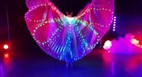 Шоу-балет LIGHT, зеркальный человек, свадебный танец - артист, шоу в Одессе - фото 3