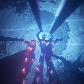 световое лазерное шоу Aliens