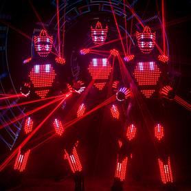 Aliens световое шоу