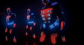 световое лазерное шоу Aliens - артист, шоу в Одессе - фото 2