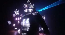 световое шоу Aliens - артист, шоу в Одессе - фото 2