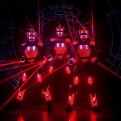 Aliens световое шоу - фото 4
