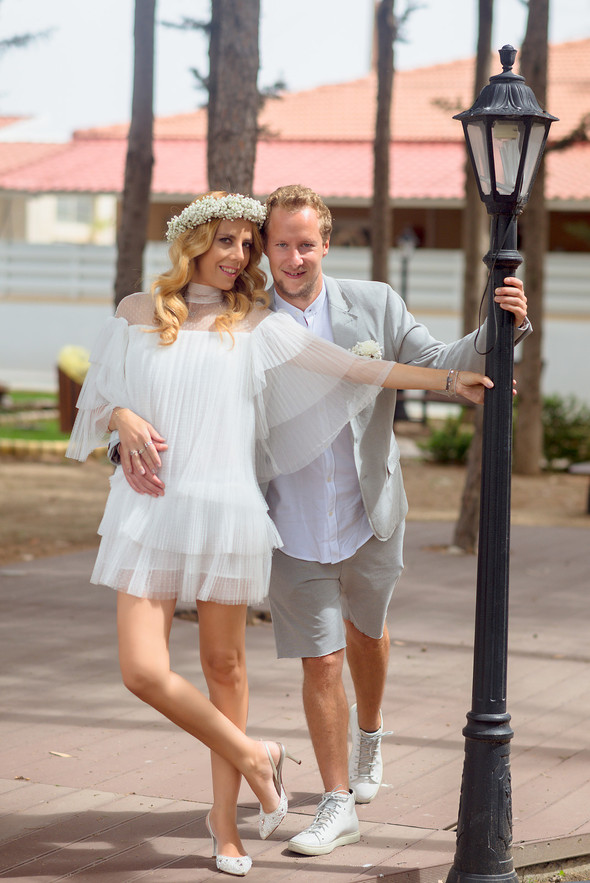 Сима и Стефан - Свадьба на берегу Средиземного моря - фото №25