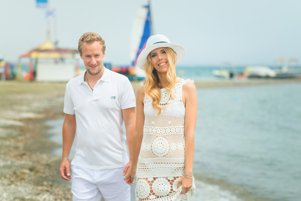 Сима и Стефан - Свадьба на берегу Средиземного моря - фото №8