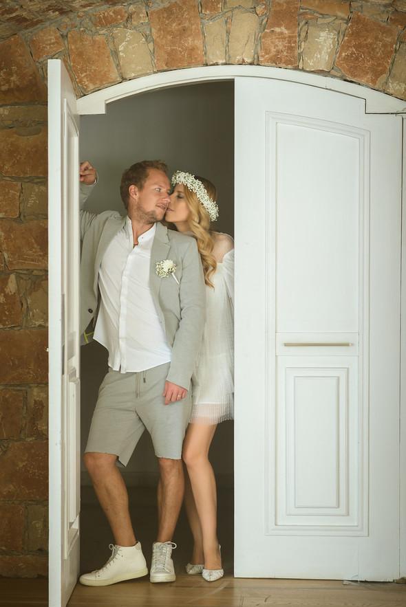 Сима и Стефан - Свадьба на берегу Средиземного моря - фото №12
