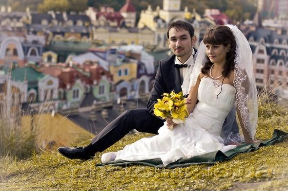 Свадьба в городе - фото №12