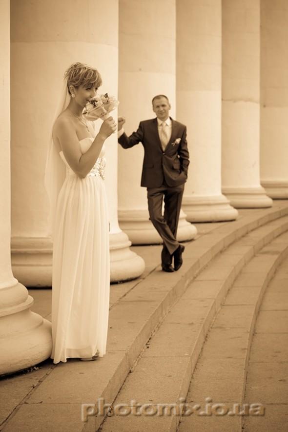 Свадебные прогулки в парках  - фото №3