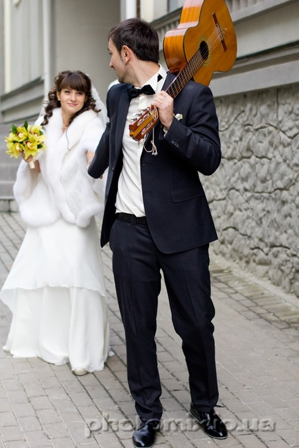 Свадьба в городе - фото №10