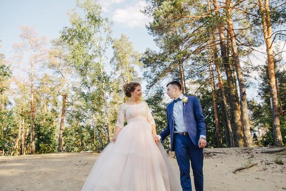 Романтическая сказка Дмитрия и Александры - фото №42