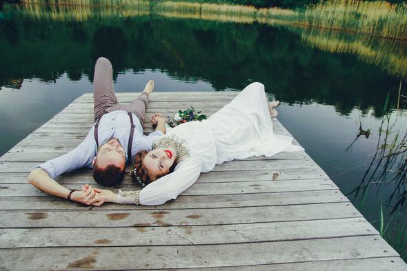 Свадебная прогулка Вити и Оли - фото №30